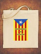 Tote Bag Catalonia Catalan Catalunya Independence Barcelona Espana Cotton Natura
