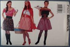 NOS Butterick Costume Pattern P424 Fortune Teller, Red Riding Hood New Old Stock
