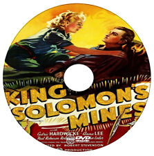 King Solomons Mines -  Paul Robeson, Cedric Hardwicke, Roland Young - 1937 - DVD