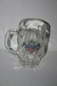 Vintage Power Stein Glass Beer  Mug Stein