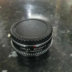 Vizelex ND Throttle Lens Adapter Canon AE to Sony E Mount