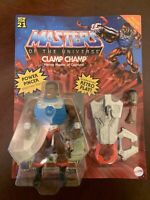 2021 Masters of the Universe Origins Deluxe CLAMP CHAMP Unpunched MOTU Mattel