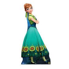 ANNA Frozen Fever Disney Lifesize CARDBOARD CUTOUT Standee Standup Kristen Bell