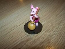 Disney Winnie the Pooh Bear Piglet Pig PVC Figure Toy Cake Topper Round Base Mop