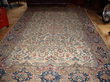 ANTIQUE ROOM SIZE KIRMAN ORIENTAL CARPET ESTATE RUG CIRCA 1920 11-10 X 8-9