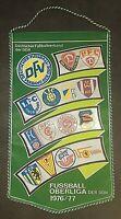 Orig. Wimpel DDR Oberliga 1976/77 Fussball Jahreswimpel BFC Dynamo Dresden FCM