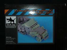 M 4 Mortar carrier accessories set 1, T35124 (INCOMPLETE SET), BLACK DOG, 1:35