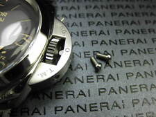 Stainless Crown Guard Screw Panerai Xv New 2pc 1950 & Luminor Daylight 316L