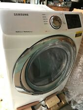 """Samsung Dvg45N5300W 27"""" White Front Load Natural Gas Dryer"""