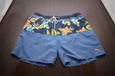 Tommy Bahama Swim Trunks Floral Netted Hawaiian Marlin Mens Size XL