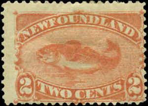 Newfoundland Scott #48b Mint