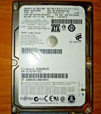 "Fujitsu (MJA22320BH) 320 gb HDD - SATA 5400rpm 2.5"" inch Hard Drive *TESTED*"