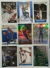 Kevin Durant, 9 Card lot, NBA. Prizm, Studio inserts etc. Nets, Warriors, OKC.