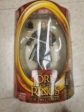 LOTR: The Two Towers, King Theoden in Armor with Sword-Slashing Action