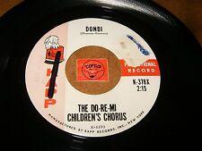 THE DO-RE-MI CHILDREN'S CHORUS - DONDI - HE'LL LOVE YOU AS  - LISTEN - POPCORN
