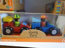 Orange Tree Toys De Madera Racing Cars,