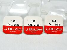 NOS Bulova ACCUTRON Parts for Model 218 UPPER COMPLETE SETTING #168 Lot of 3 PCS