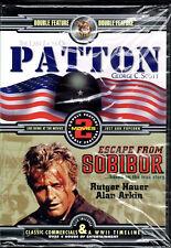 Last Days of Patton (1986 / Escape From Sobibor (1987 (DVD)   LN