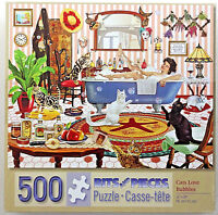 jigsaw puzzle 500 pc  Cats Love Bubbles Rosiland Solomon Bits & Pieces