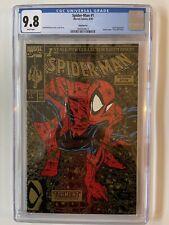 Spider-Man 1 Gold - 2nd Printing  (1990)  CGC 9.8 !!!  CLASSIC TODD MCFARLANE
