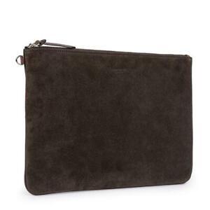 Men's Hackett, N Hill Folio Leather Wallet in Brown