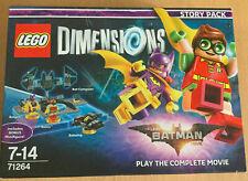 LEGO DIMENSIONS STORY PACK SET 71264 BATMAN THE MOVIE DC COMICS BATGIRL