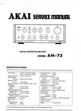 Akai Service Manual für AM- 73 Copy