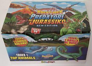 Kreaturex Jurassic Predators New Edition Box 14 Blind Packs Sbabam