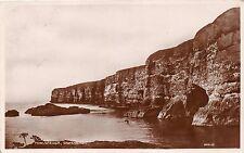 Fowlsheugh Stonehaven Scotland Scotland Uk Photo Postcard 1929 Double Circle Pmk