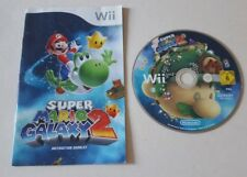 SUPER MARIO GALAXY 2 TWO NINTENDO WII / WII U GAME BROS BROTHERS KIDS CHILDRENS