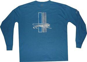 Detroit Lions Reebok Throwback Pro Style Long Sleeve T Shirt XL Clearance!