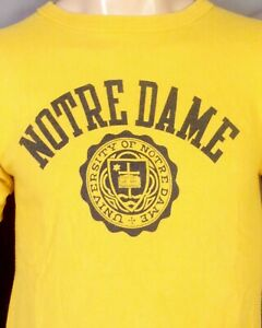 vintage 80s single stitch Champion Notre Dame Fighting Irish T-Shirt NCAA sz M