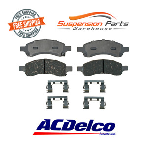 Front Brake Pads Ceramic Set For Colorado Trailblazer Canyon Envoy 9-7x Rainier
