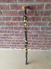 Beautiful Custom Cane Built out of Twisted Aspen with a Diamond Willow Handle