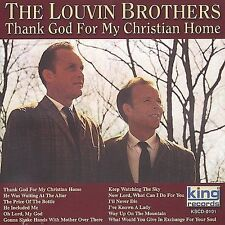 "THE LOUVIN BROTHERS, CD ""THANK GOD FOR MY CHRISTIAN HOME"" NEW SEALED"
