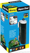 Aqua One A1-11366 Moray 320 Internal Filter 320L/h for Fresh/Marine Tanks, Rept