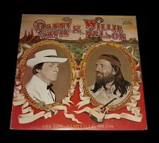 WILLIE NELSON & DANNY DAVIS LP COUNTRY & WESTERN ON RCA
