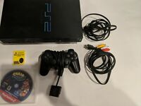 Sony PlayStation 2 PS2 Fat Console System SCPH-39001 Complete OEM Bundle Tested