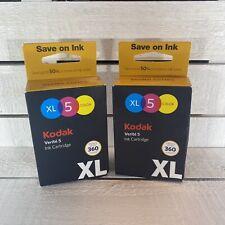 2 Kodak Verite Replacement XL Color Ink Jet Cartridges V50 V55 V55W Eco V55 Plus
