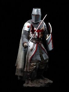 90mm Unpainted Knight Model Kits Resin Unassembled Figure Garage Kits GK Statue
