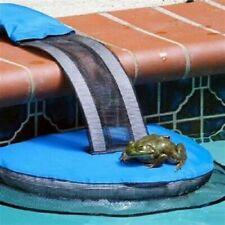 Frog Log Swimming Pool Critter Saving Escape Ramp (Blue)