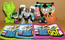 Maxi Kinder 2019, Teen Titans Go, compl. set with all Bpz, SED23 - SED26