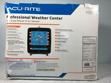AcuRite Weather Sensor with Rain Gauge Wind Speed Direction Temperature Humidity