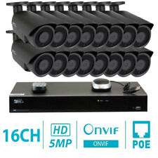 16 Channel 8MP 4K NVR 16 X 5MP 1920P PoE IP Outdoor Home Security Camera System