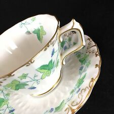 Vintage Tea Cup and Saucer Royal Crown Derby English Fine Bone China
