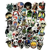 Skull, Skeleton & Zombies PVC Vinyl Sticker Lot Pack Skateboard Laptop Decal JDM