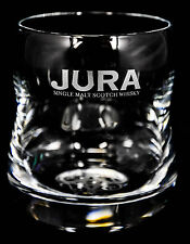 Jura Whiskey, Whiskeyglas, Tumbler Glas, Gläser, Facettenschliff