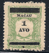 Macau Scott   144    Mint Hinged