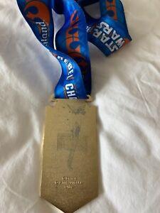 2017 Run Disney REBEL CHALLENGE MEDAL STAR WARS- Marathon