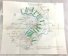 More details for the battle of ypres france ww1 military map western front british army 1914